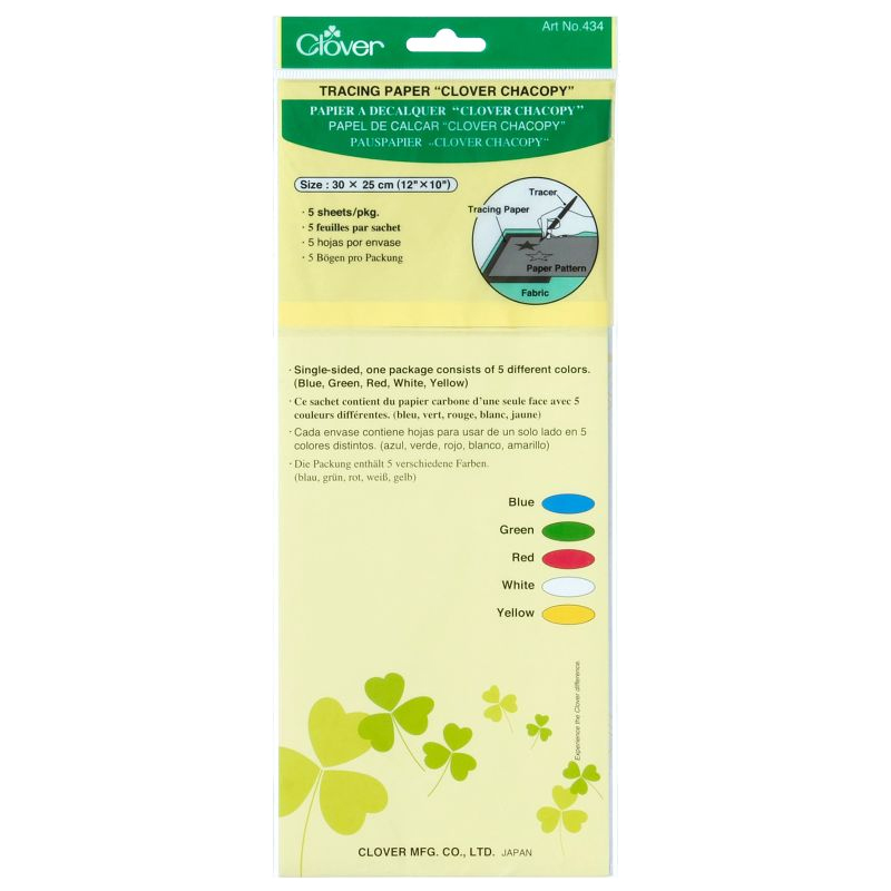 clover carbonpapier borduren