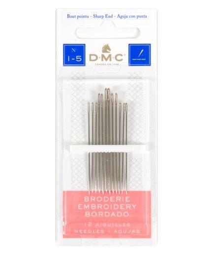 DMC borduurnaalden scherp 1-5