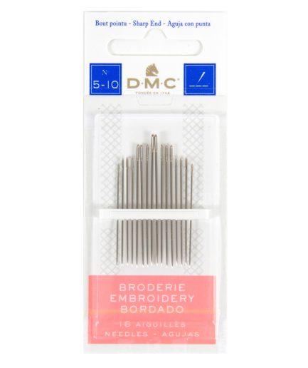 DMC borduurnaalden scherp 5-10