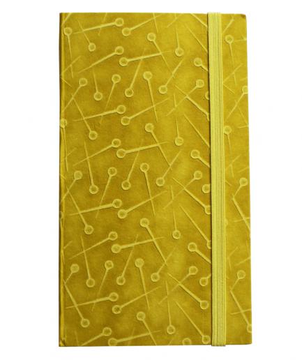 cohana notitieboek geel