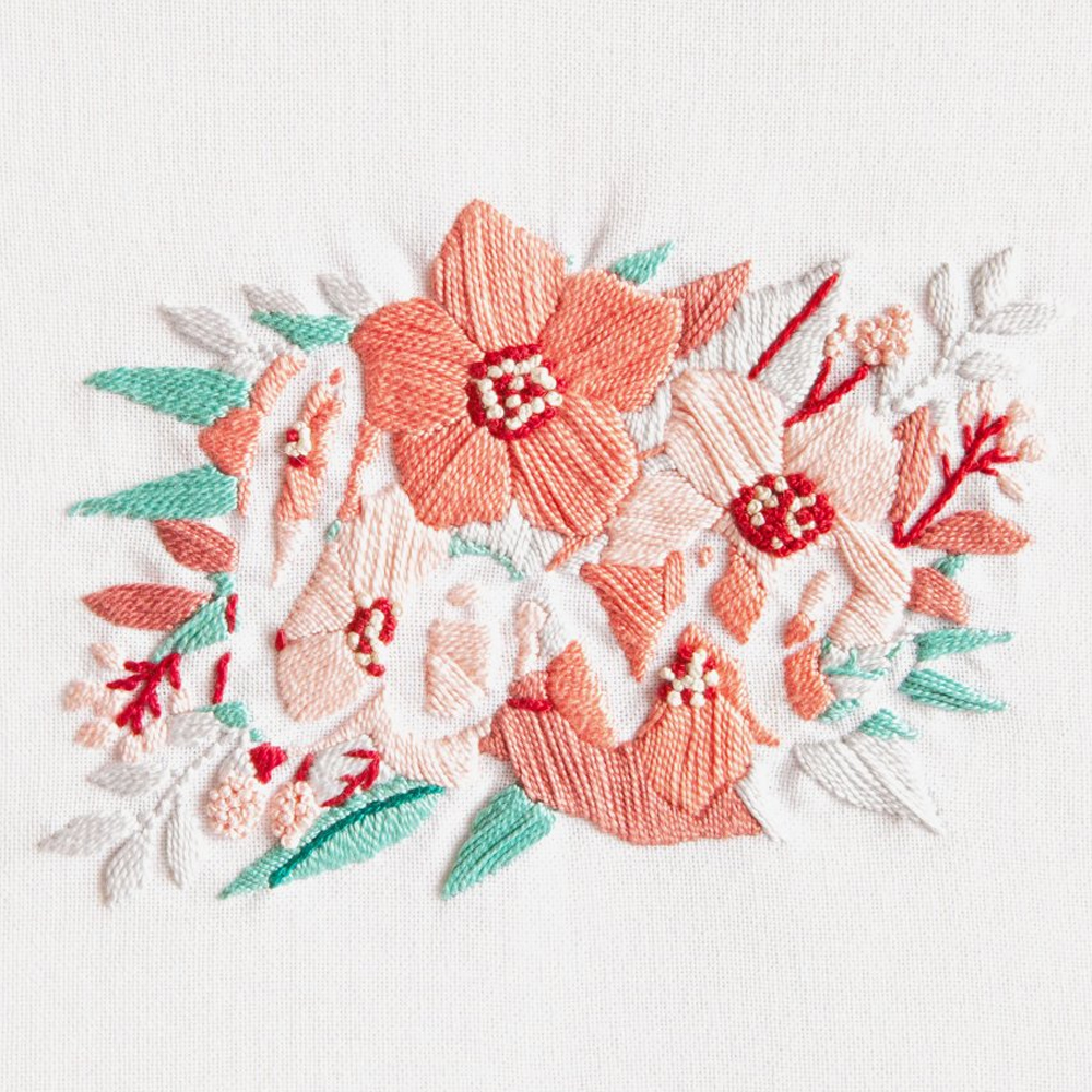 Verwonderend DMC Borduurpakket Perlé - Love Flowers - Iris Borduurt HE-25