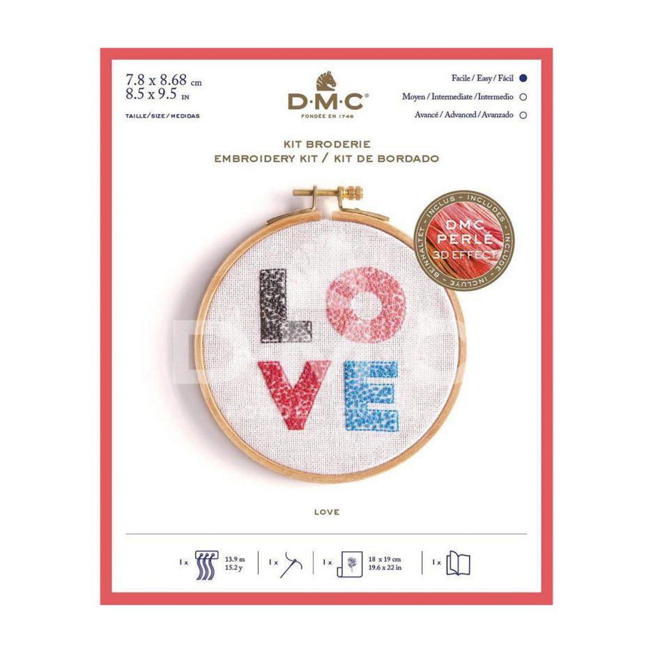 DMC Borduurpakket love