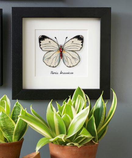 Vervaco borduurpakket vlinder