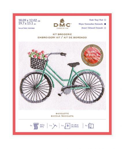 borduurpakket fiets dmc