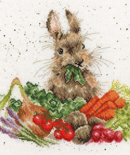 borduurpakket konijn