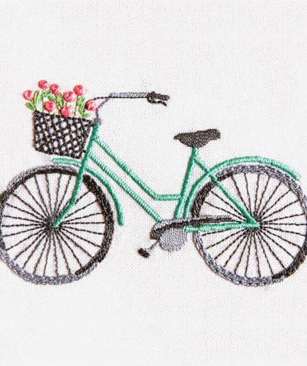 DMC borduurpakket fiets