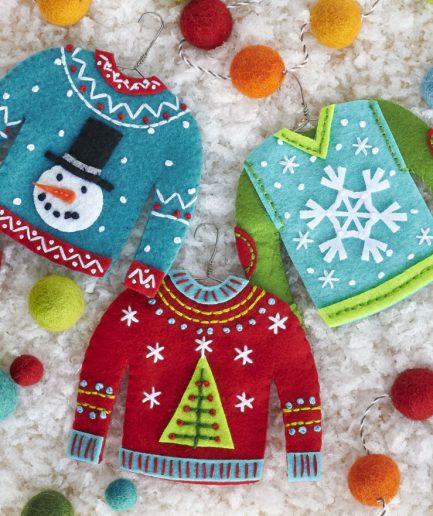 kersttrui borduren