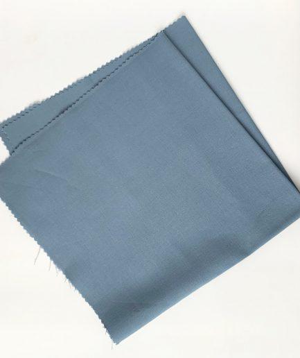 voorgesneden katoen grijsblauw