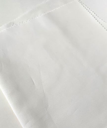 voorgesneden katoen wit