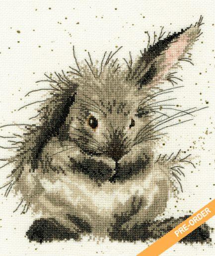 wassend konijn borduurpakket pre order