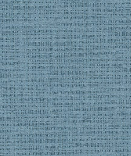 Zweigart aida borduurstof grijsblauw