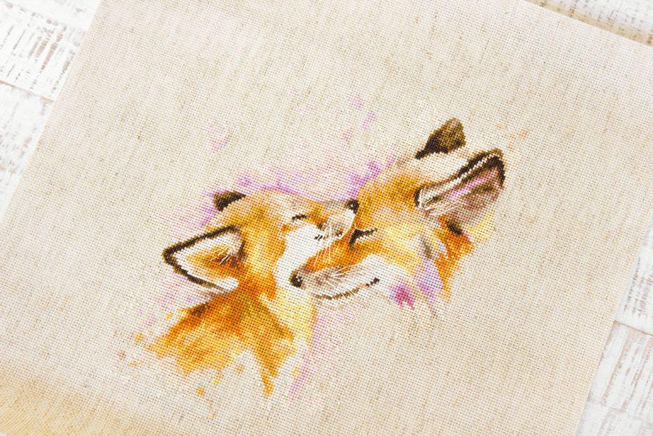 Luca-S borduurpakket vossen