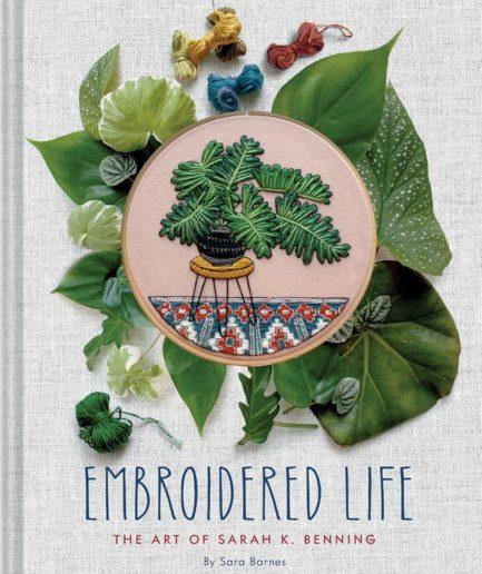 embroidered life sarah k benning borduurboek