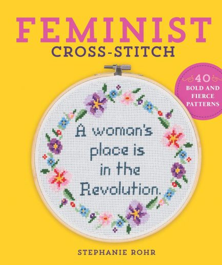 feminist cross stitch boek