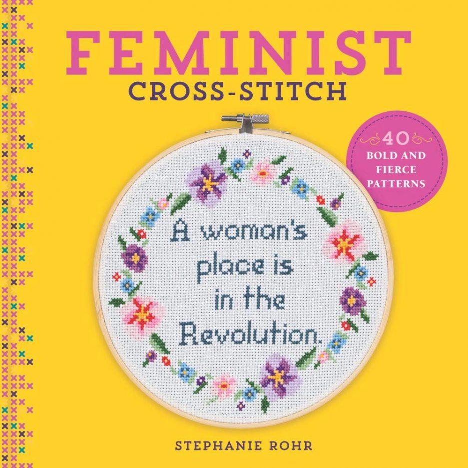 feminist cross stitch boek
