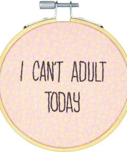 i cant adult today borduurpakket