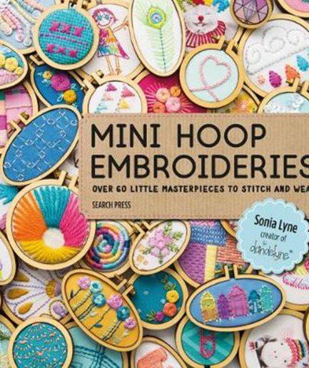 mini hoop embroidery borduurboek