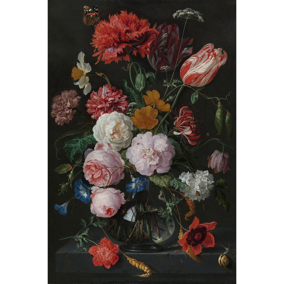 stillleven met bloemen de heem borduurpakket