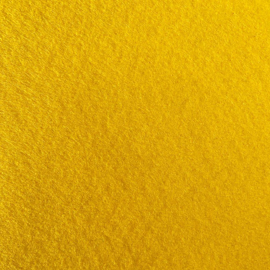synthetisch vilt geel