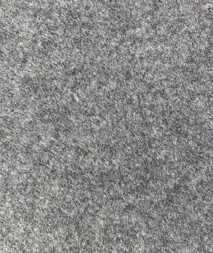 synthetisch vilt grijs gemêleerd