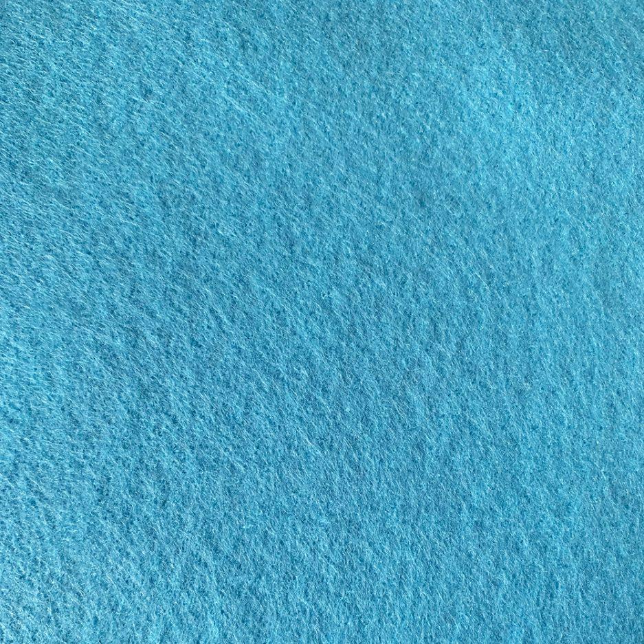synthetisch vilt lichtblauw