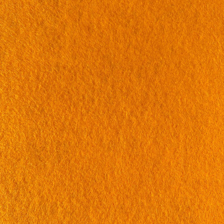 synthetisch vilt oranje
