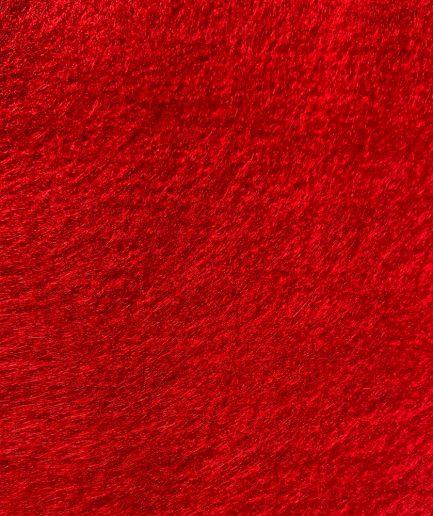 synthetisch vilt rood