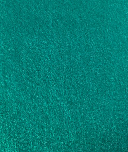 synthetisch vilt turquoise