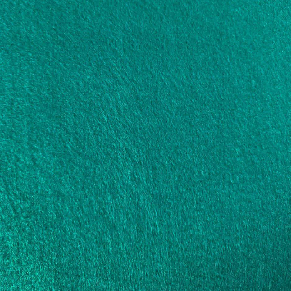 synthetisch vilt turquoise