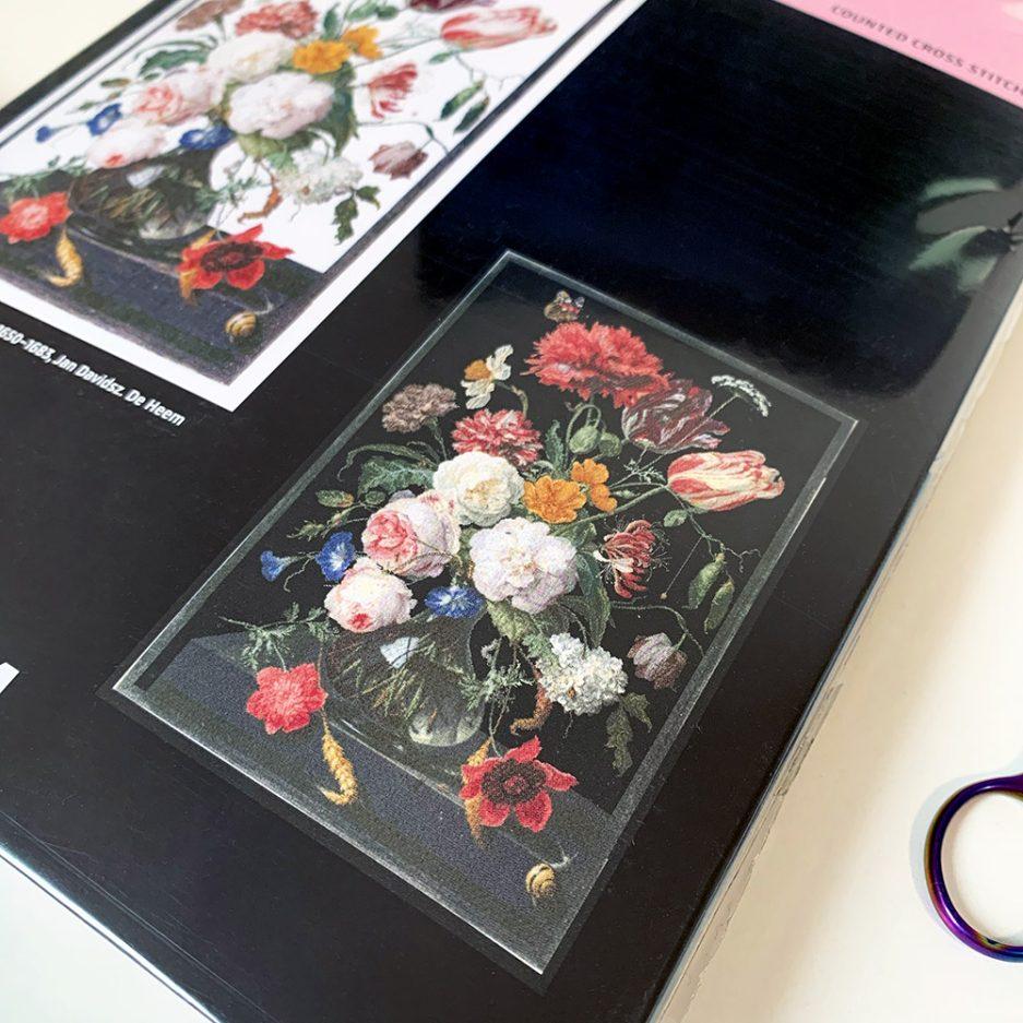 thea gouverneur stilleven met bloemen borduurpakket