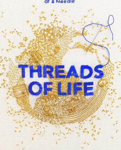 threads of life boek over borduren