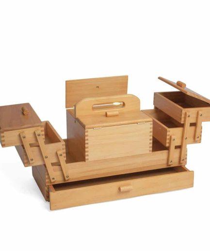 houten naaibox