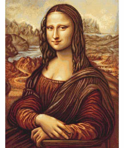 mona lisa borduurpakket