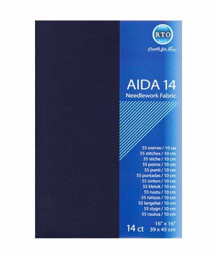 aida donkerblauw 14 count