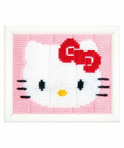 borduurpakket hello kitty voor kinderen