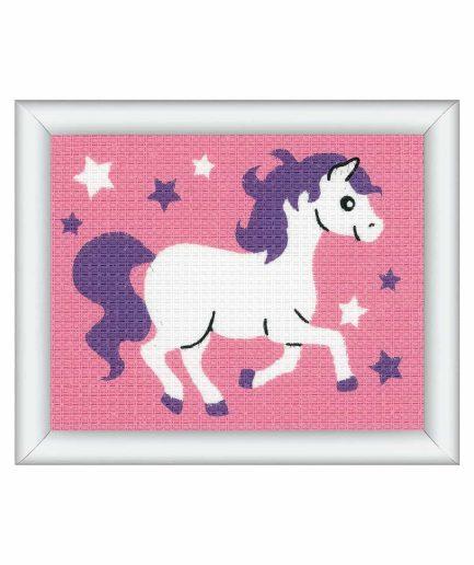 borduurpakket paard voor kinderen