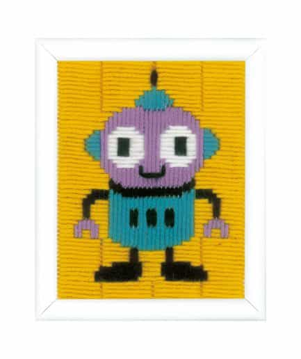 borduurpakket robot voor kinderen