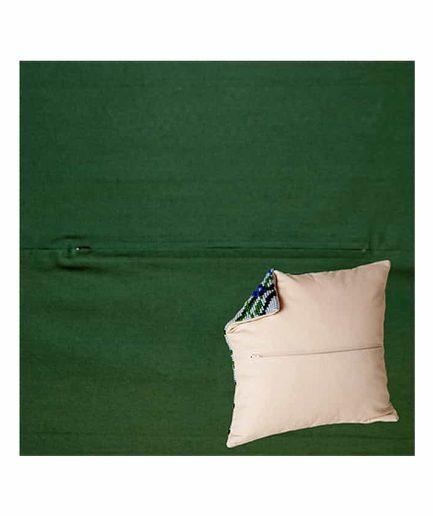 duftin kussenrug voor borduren groen