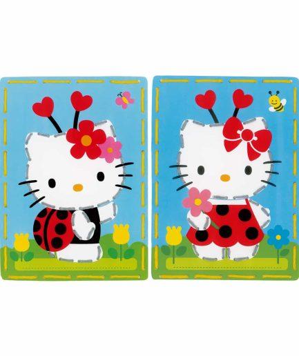 hello kitty borduurpakket voor kinderen