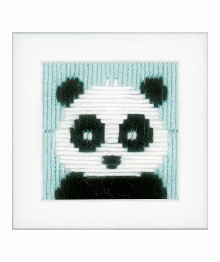 panda makkelijk borduurpakket voor kinderen
