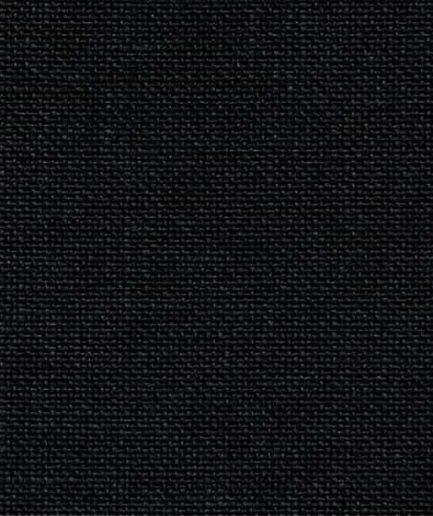 zwart linnen borduurstof