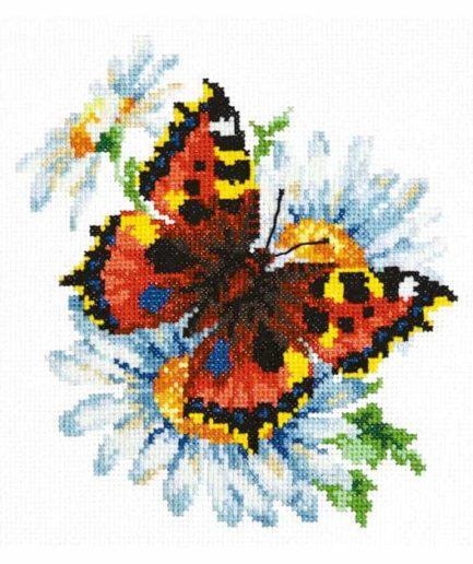 Magic Needle vlinder borduurpakket