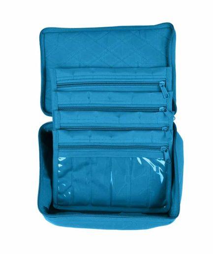 Yazzi 4 Pocket Organizer blauw