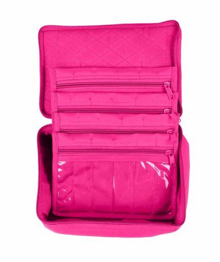 Yazzi 4 Pocket Organizer roze