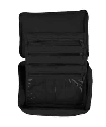 Yazzii 4 pocket organizer zwart