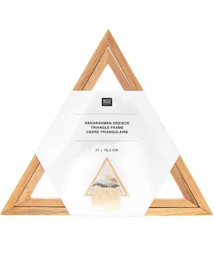 Rico lijst borduurwerk driehoek