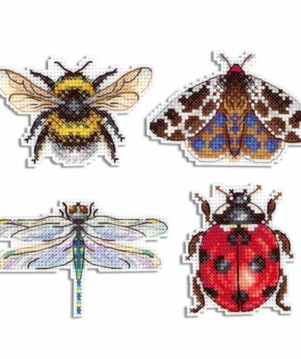 borduurpakket insecten magneten