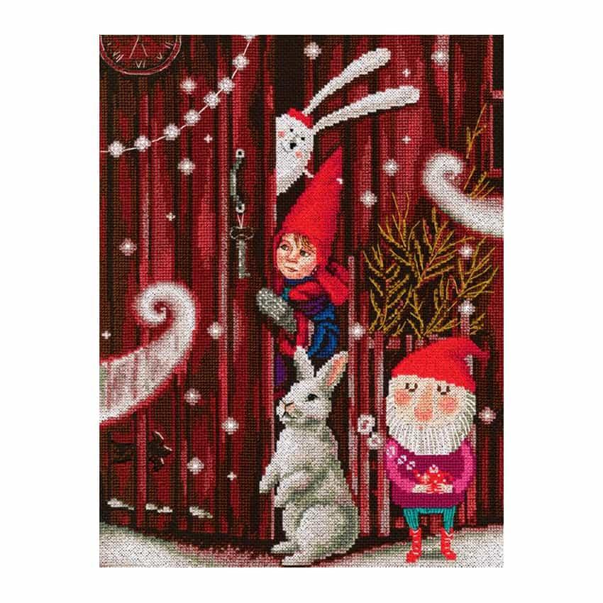 RTO borduurpakket winter kerst