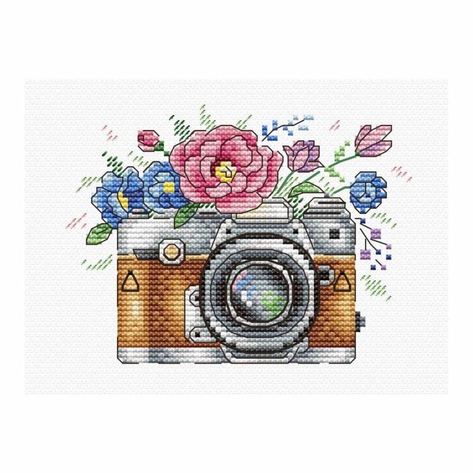 camera borduren op kleding