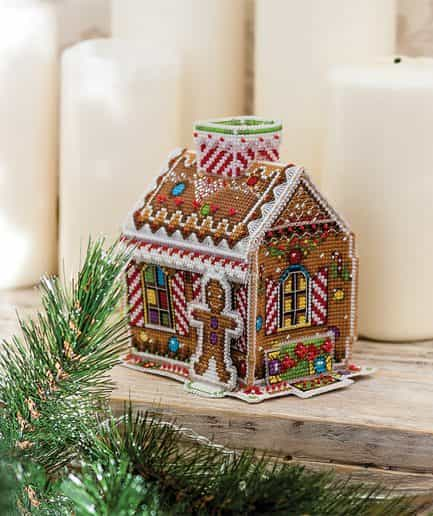 gingerbread house borduurpakket